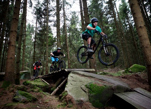 Join the MTB tracks - The wild track