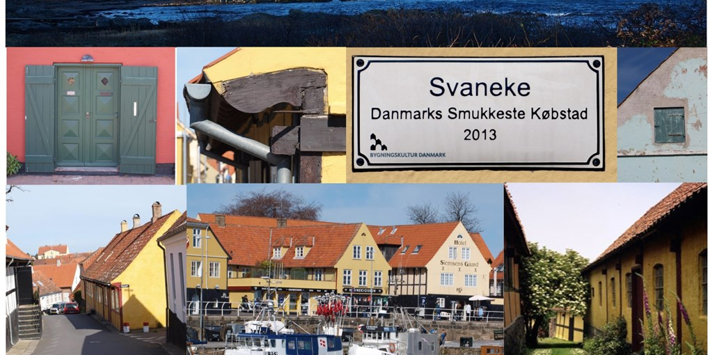 The cultural history of Svaneke, seen through buildings, trade and food